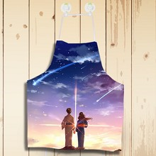 Your name waterproof apron