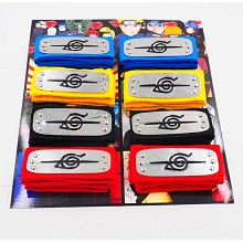 Naruto cos headbands set(8pcs a set)