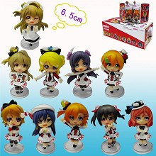 Lovelive figures set(10pcs a set)