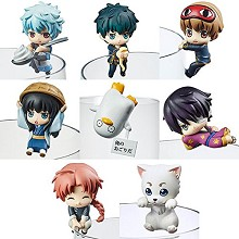 Gintama figures set(8pcs a set)