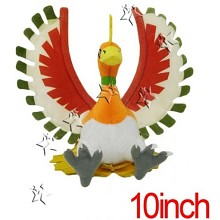 10inches Pokemon Ho-Oh plush doll