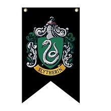 Harry Potter Slytherin cos flag