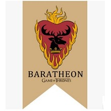Game of Thrones Baratheon cos flag