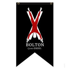 Game of Thrones BOLTON cos flag