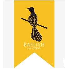 Game of Thrones BAELISH cos flag