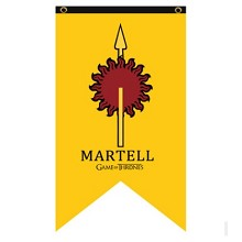 Game of Thrones MARTELL cos flag