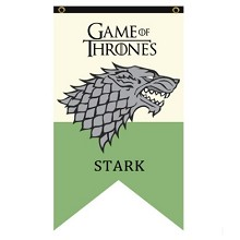 Game of Thrones STARK cos flag