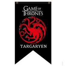 Game of Thrones TARGARYEN cos flag
