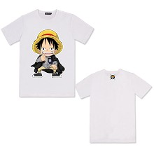 One Piece Luffy cotton t-shirt