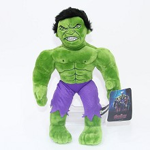 12inches Hulk plush doll