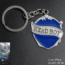 Harry Potter head boy key chain