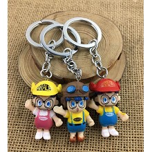 Dr.Slump figure doll key chains set(3pcs a set)
