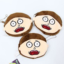 Rick and Morty plush wallets set(3pcs a set)