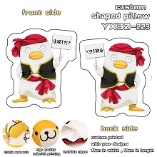 Gintama custom shaped pillow
