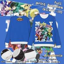 My Hero Academia full print hoodies