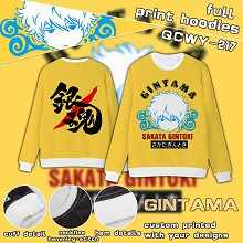 Gintama full print hoodies