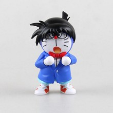 Doraemon cos conan figure