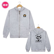 One Piece Luffy thin hoodie cloth