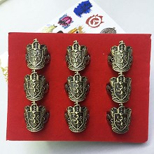 Harry Potter Gryffindor rings set(9pcs a set)