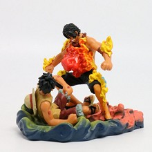 One Piece Luffy and ACE figure