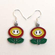 Super Mario earrings a pair