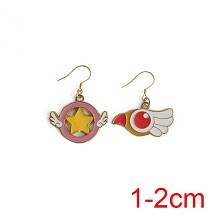 Card Captor Sakura earrings a pair