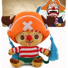 12inches One Piece Chopper cos Buggy plush doll