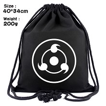 Naruto drawstring backpack bag