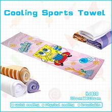 Spongebob cooling sports towel