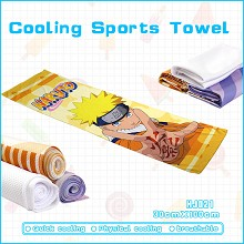 Naruto cooling sports towel