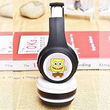 Spongebob wireless bluetooth headset headphone