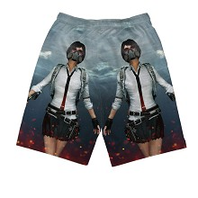 Playerunknown's Battlegrounds beach pants shorts m...