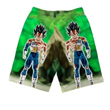 Dragon Ball beach pants shorts middle pants