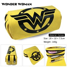 Wonder Woman canvas pen bag pencil bag