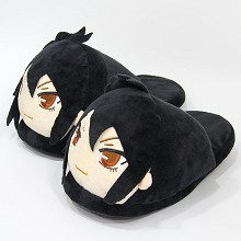 12inches Kuroshitsuji plush shoes slippers a pair