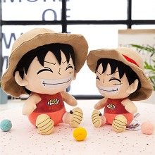 18inches One Piece Luffy plush doll