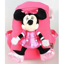 Minnie Mouse children plush backpack school bag