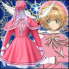 Card Captor Sakura cosplay costume cloth dress a s...
