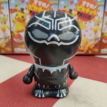 Doraemon cos Black Panther figure