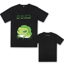 Travel Frog cotton t-shirt