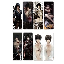 Tomb Notes anime pvc bookmarks set(5set)