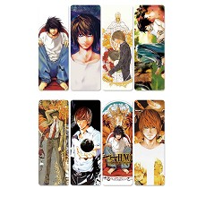 Death Note anime pvc bookmarks set(5set)