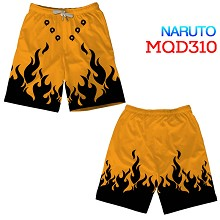 Naruto beach pants shorts middle pants