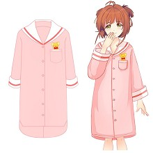 Card Captor Sakura anime cotton long sleeve pajama...