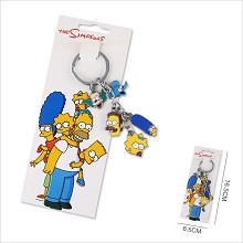 The Simpsons anime key chain