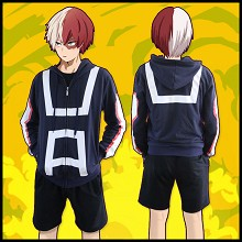 My Hero Academia cotton thin hoodie cloth
