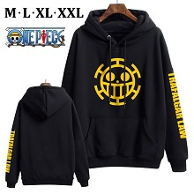 One Piece anime thick cotton hoodie cloth costume