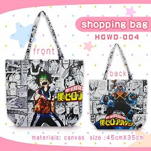 My Hero Academia anime canvas shipping bag