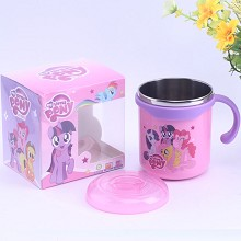 My Little Pony cartoon 304 stainless steel cup mug