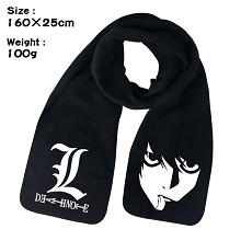 Death Note anime scarf